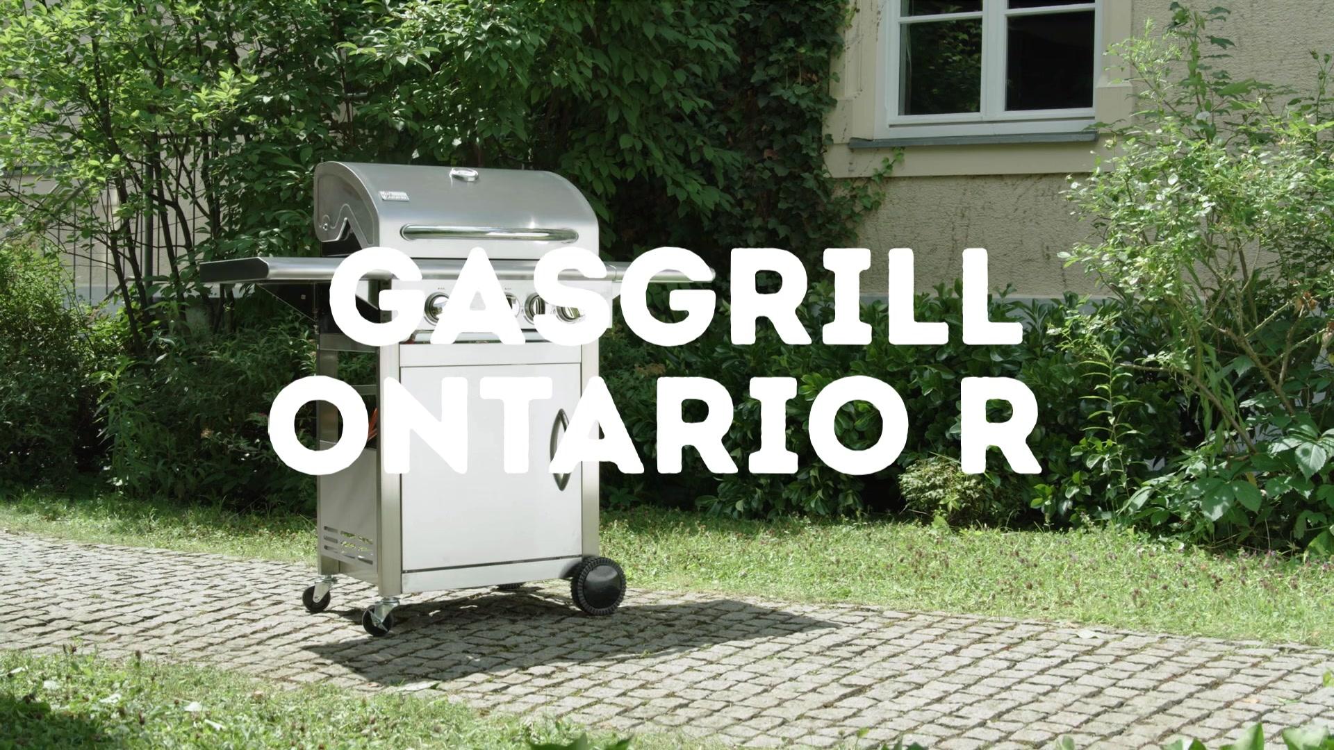 Test Gasgrill Ontario R : Gasgrill u maximaler grillspaß bei minimalem aufwand mediamarkt