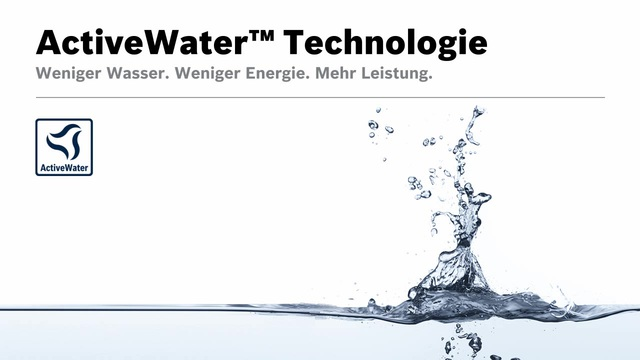 Bosch - ActiveWater Technologie Video 8