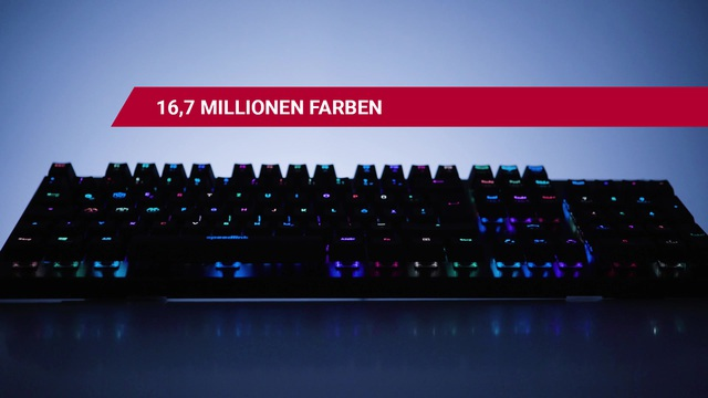 Speedlink - Orios RGB Opto Tastatur Video 3