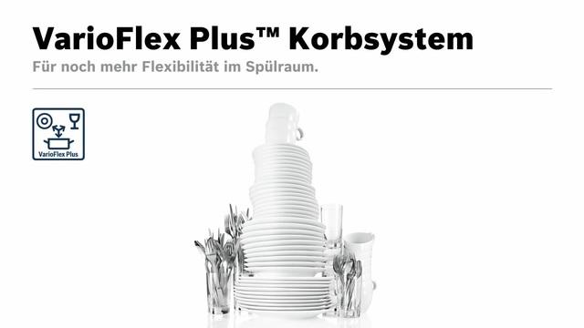 Bosch - VarioFlex Plus Korbsystem Video 13