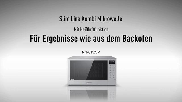 Panasonic - Slim Line Mikrowelle NN-CT57 Video 3