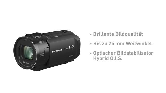 Panasonic - HC-V808 Camcorder Video 3
