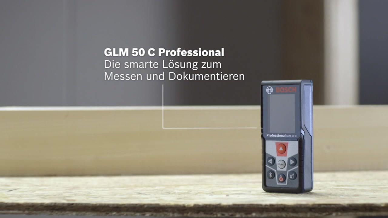 Bosch Laser Entfernungsmesser Anleitung : Glm 50 c laser entfernungsmesser bosch professional
