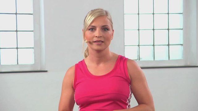 Regina Halmich: Box Dich fit! Video 3