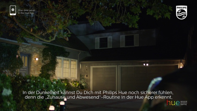 """Philips - Hue - """"zuhause & abwesend""""-Routine Video 10"""