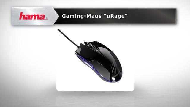 """Hama Gaming-Maus """"uRage"""" Video 3"""