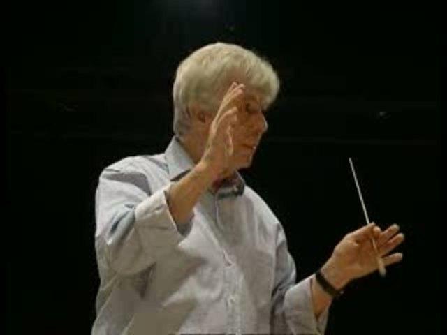 Christoph von Dohnanyi - In Rehearsal Video 3