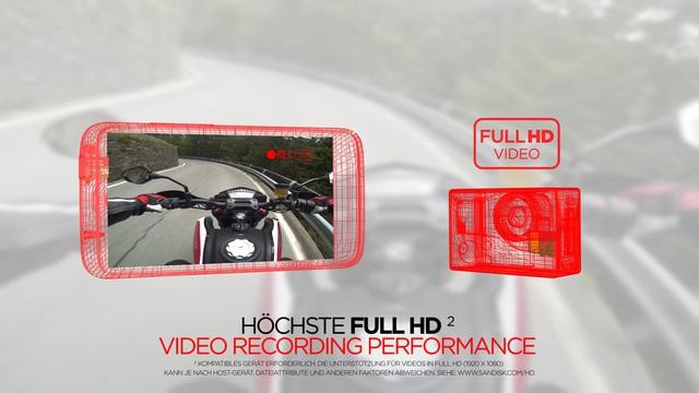 SanDisk - Extreme microSDHC / microSDXC Video 3