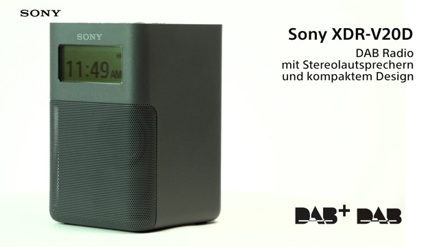Sony - XDR-V20D Video 3
