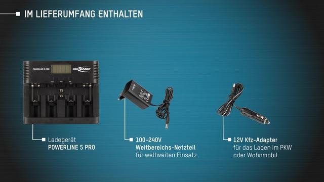 Ansmann - Powerline 5 Pro Video 2