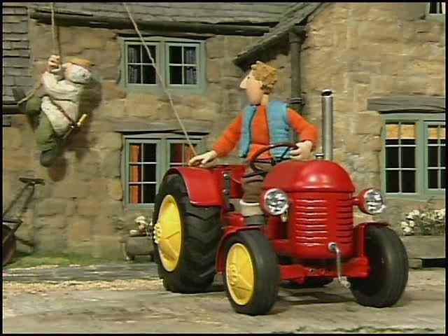kleiner roter traktor 2  lichterketten und 5 weitere