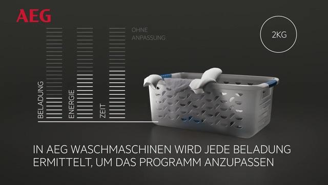 AEG - ProSense Technologie - Spart Wasser, Energie & Zeit Video 12