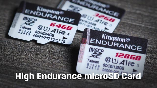Kingston - High Endurance microSD Karte Video 3