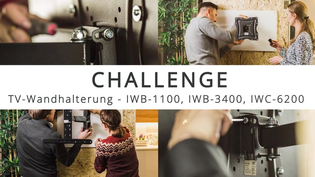 ISY - Challenge: TV-Wandhalterung installieren in 15 Minuten Video 3
