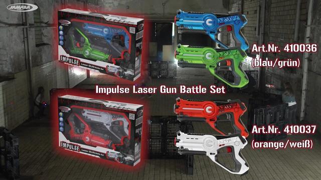 Jamara - Impulse Laser Battle Set Video 3