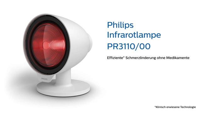 Philips Infrarotlampe PR3110/00 Video 3