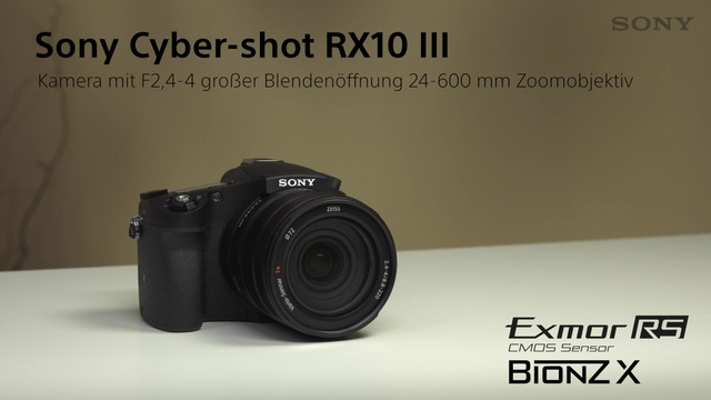 Sony - Cyber-shot RX10 III Video 3
