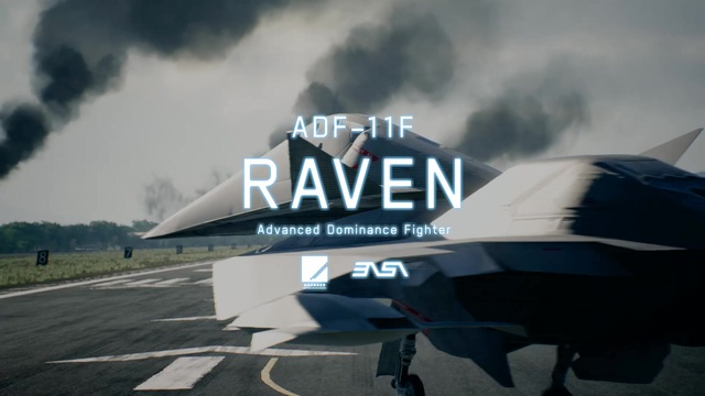 Ace Combat 7: Skies Unknown - DLC 1 ADF-11F Raven Video 3