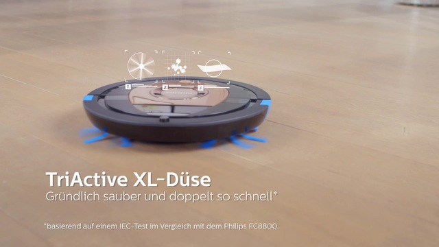 Philips Saugroboter FC8776/01 Video 3