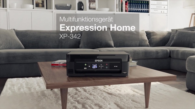 EPSON - Expression Home XP 342 Multifunktionsdrucker Video 3