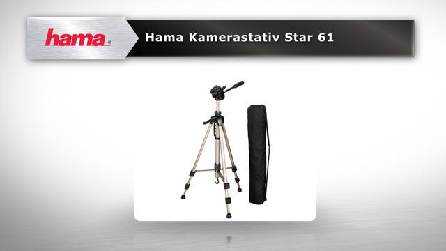 """Hama Dreibeinstativ """"Star 61"""" Video 3"""