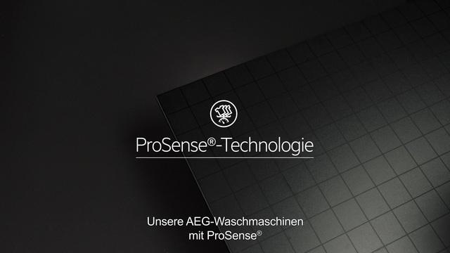 AEG - ProSense Technologie - Doppelt effektive Pflege Video 17