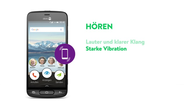 Doro - Smartphone 8040 (DNA) Video 3