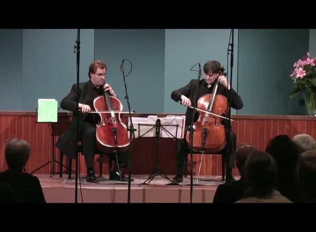 Wolfgang Emanuel Schmidt/Jens Peter Maintz - Cello Duello Video 3