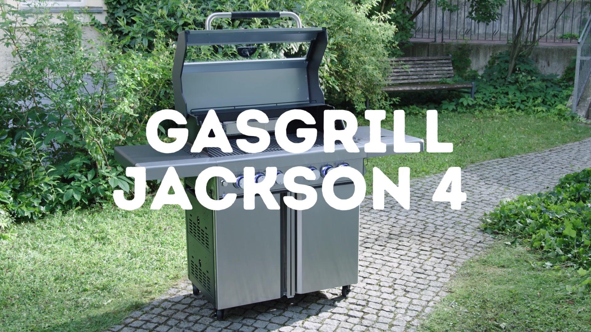 Test Gasgrill Jackson 4 : Mr gardener gasgrill jackson « brenner hagebau