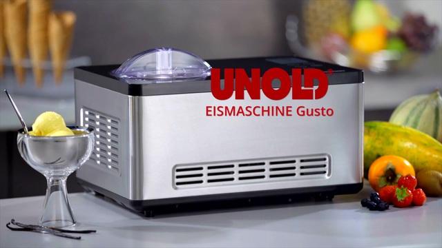 Unold - Eismaschine Gusto 48845 Video 3