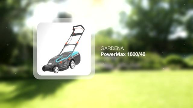 Lawnmower PowerMax 1800/42 Video 3