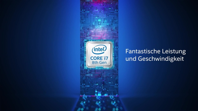 Intel - Core i7 Prozessoren 8th Gen Video 10
