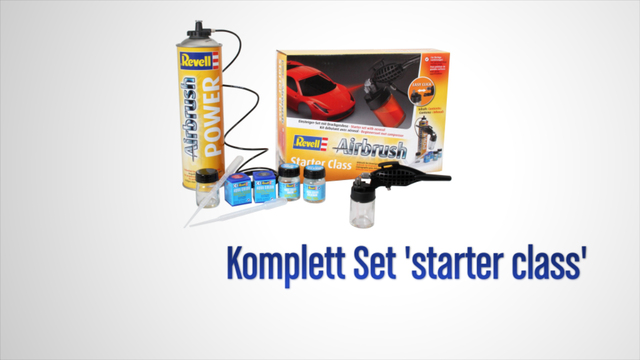 Revell - Komplett Set 'starter class' Video 3