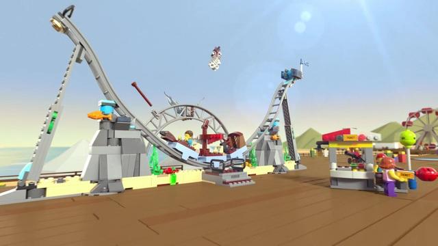 LEGO Creator - Piraten-Achterbahn 31084 Video 3