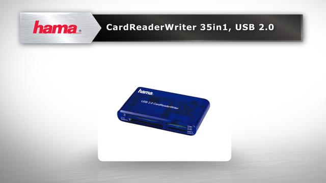 Hama USB-2.0-Multi-Kartenleser 35in1 Video 3