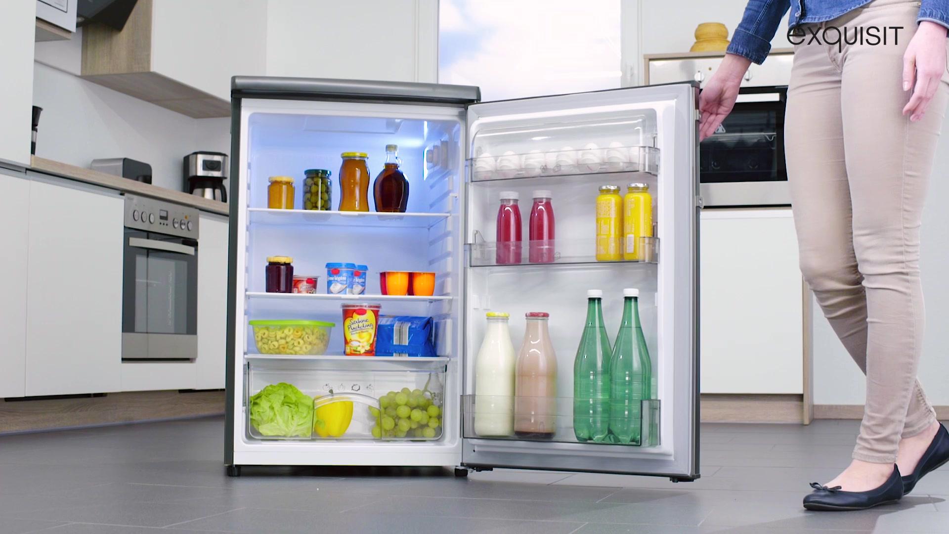 Miniküche Mit Kühlschrank Hagebaumarkt : Exquisit kühlschrank ks rva a cm hoch