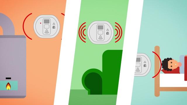 Ei Electronics - Kohlenmonoxid-Warnmelder Video 3