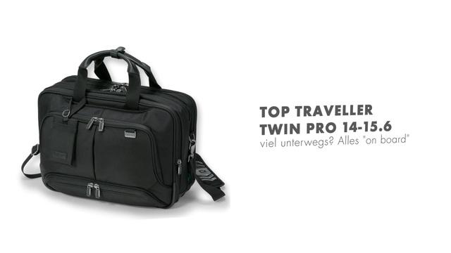 Dicota - Top Traveller Twin Pro 14-15.6 Video 3