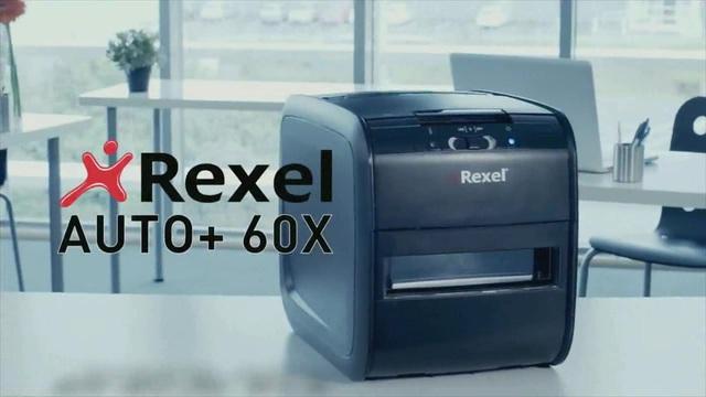 Rexel - Auto+ 60X Aktenvernichter Video 3
