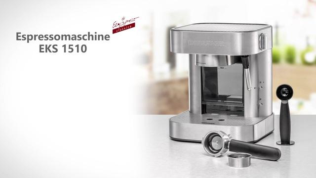 Rommelsbacher - Espressomaschine EKS 1510 / 2010 Video 3