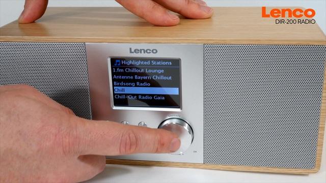 Lenco - DIR 200 Radio Video 3
