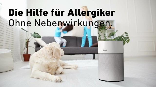 Ideal - Luftreiniger - Die Hilfe für Allergiker Video 7