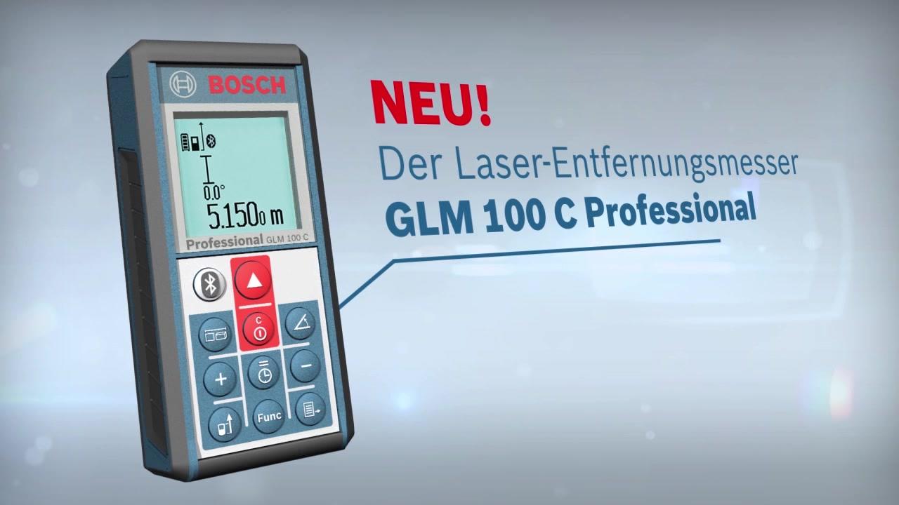 Glm c laser entfernungsmesser bosch professional