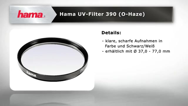 Hama - UV Filter 390 Video 3