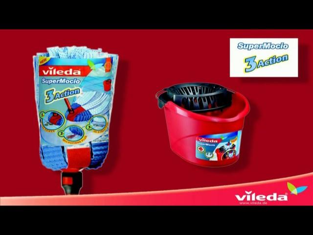 Vileda - SuperMocio 3xAction Velour Video 3