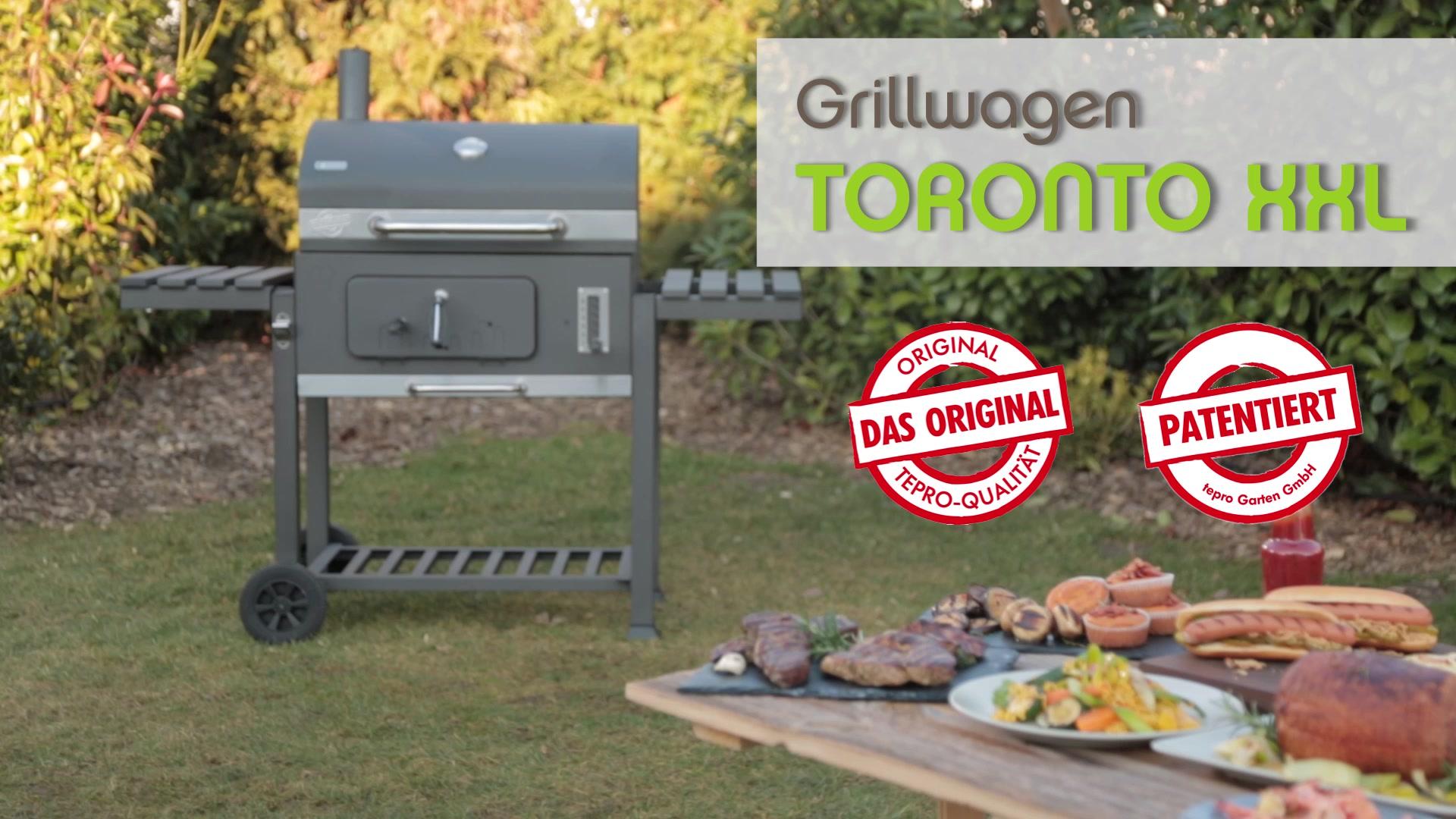 Tepro Toronto Holzkohlegrill Hagebau : Tepro grillwagen toronto xxl« hagebau