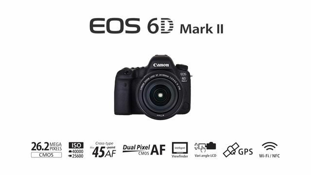 Canon - EOS 6D Mark II Video 3