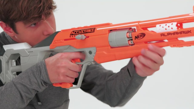 Hasbro - NERF N-Strike Elite Accustrike Alphahawk Video 11