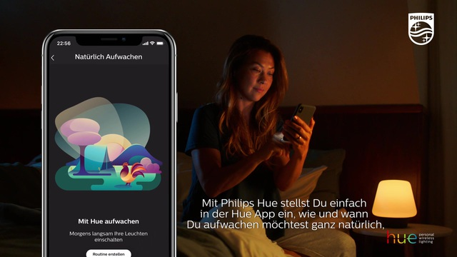 Philips - Hue - Wake Up Video 11