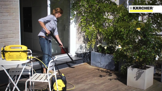 High Pressure Cleaners K 2.200 Balcony Cleaner Video 22